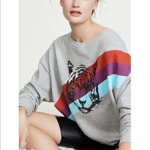 NWT Wildfox Tiger Stripes Sweatshirt